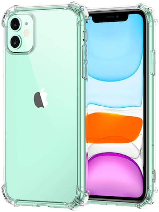 SHINING ZON Back Cover For Apple iPhone 11 ( Transparent )
