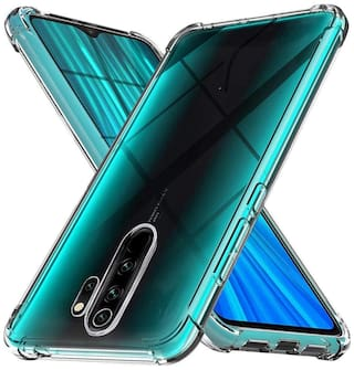 EXOTIC FLOURISH Silicone Back Cover For Oppo A5 2020 ( Transparent )