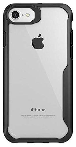 IDHAR Plastic Designer Back Cover For Apple iPhone 6 & Apple iPhone 6s ( Black )