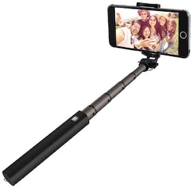 Shopmetro Selfie Stick Without Remote For All Android & iPhones (Black)