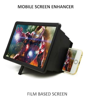 ShutterBugs Screen Enlarger Screen Expander Magnifier Stand For iOs And Android (Multi Color)