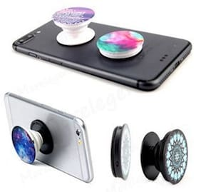 ShutterBugs Pop Grip Socket Expanding Stand For Mobile Phones & Tablets With Pop Car Mount(Assorted)