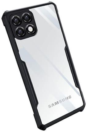 Samsung Galaxy A22 5G Silicone Back Cover By Siddhisrishti (Transparent)