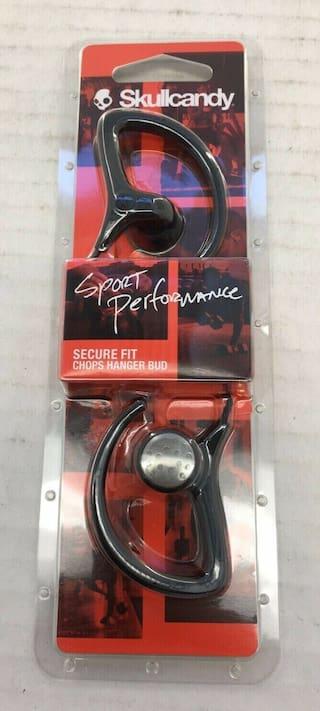 Skullcandy SPORT PERFORMANCE Secure Fit Chops Hanger earbuds BRAND NEW!