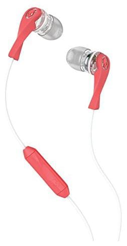 Skullcandy Wink'd Women's Earbuds in Mash-up/Clear/Coral with Mic - New