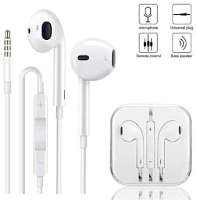 SKYPHR YS 1 In-Ear Wired Headphone ( White )