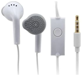 Smartchoice Compatible Earphone YS For All Smartphone with Mic 3.5 mm Jack  For Redmi Honor V9 (White)