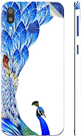 Snooky Mobile Skin For Samsung Galaxy M20 (Blue)