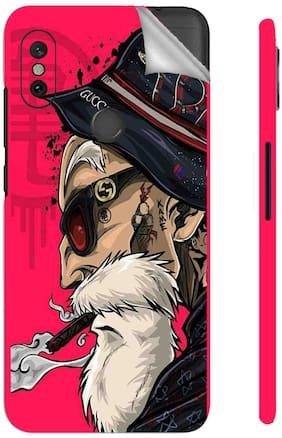 Snooky Mobile Skin For Xiaomi Redmi Note 6 Pro (Red)
