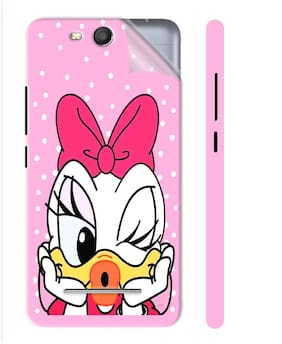 Snooky Mobile Skins For Micromax Canvas Juice 3 Q392