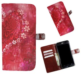 Snooky Printed Colorful Pattern Mobile Flip Cover of Xiaomi Redmi Note 5 Pro