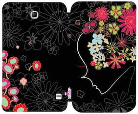 Snooky Printed Flip Cover Case for Samsung Galaxy Tab4 7.0 T230