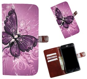Snooky Printed Colorful Pattern Mobile Flip Cover of Huawei Honor 9 Lite