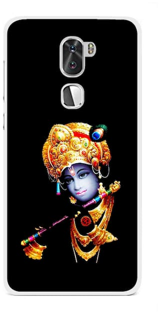 the latest ab4c7 1226e Snooky Printed God Krishna Mobile Back Cover For Coolpad Cool 1 - Multi