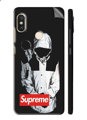 Snooky Printed Vinyl Mobile Skin Sticker For Xiaomi Redmi Note 5 Pro