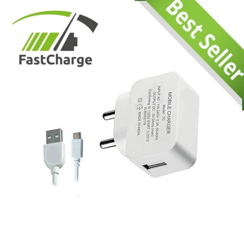 SNT  2.1AMP SUPERFAST CHARGING Mobile Charger For Smartphone