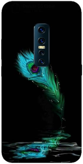 SVISINDIA Silicone Back Cover For Vivo V17 Pro ( Multi )