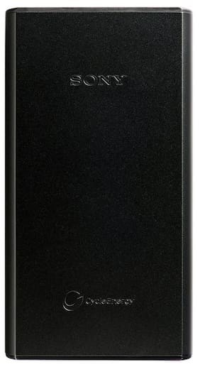 Sony CP-S20/BC 4 USB Ports 20000 -mAh Li-Polymer Power Bank Black