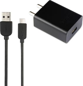 SONY Wall Charger For All Smartphones (Black)