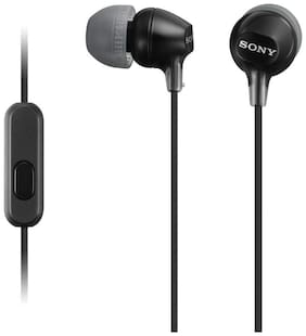 Sony MDR-EX15AP In-Ear Wired Headphone ( Black )