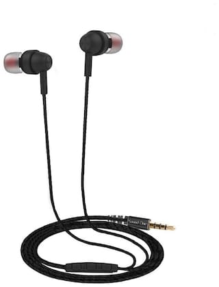 Sound One E10 In-ear Wired Headphone ( Black )