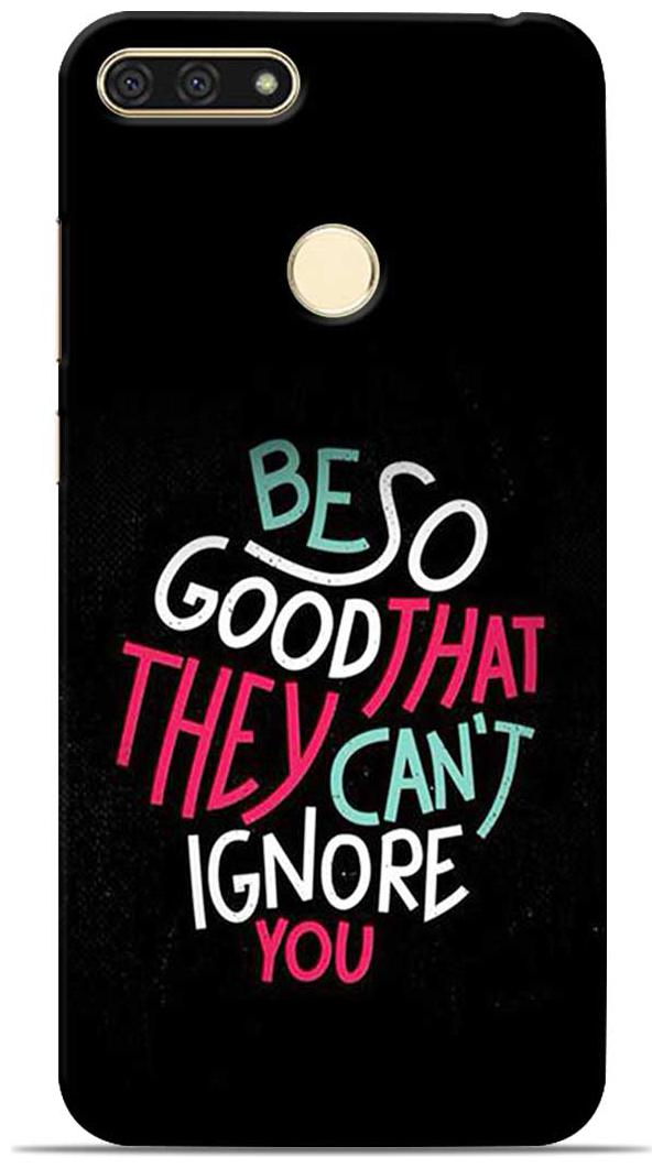 Sowing Happiness Polycarbonate Designer Back Cover For Honor 7A   Multi