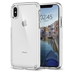 Spigen iPhone X (2017) Case Ultra Hybrid Crystal Clear 057CS22127