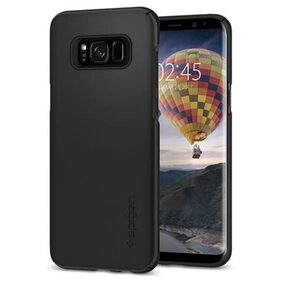 Spigen Samsung Galaxy S8 Case Thin Fit Black (SF coated) 565CS21624