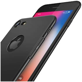 SPINZZY Silicone Back Cover For Apple iPhone 6s ( Black )