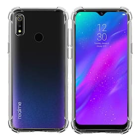 Spinzzy Bumper For Realme 3(Transparent)