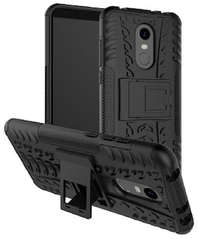 SPINZZY Rubber Back Cover For Redmi Note 5 ( Black )