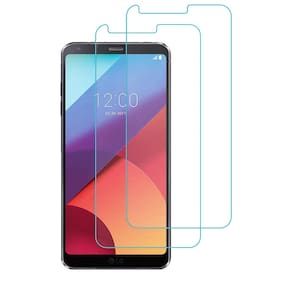 SPINZZY Tempered Glass For Lg G6