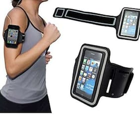 Sports Running Jogging Gym Armband Case Cover Holder for Any Mobile 13.97 cm (5.5 inch)
