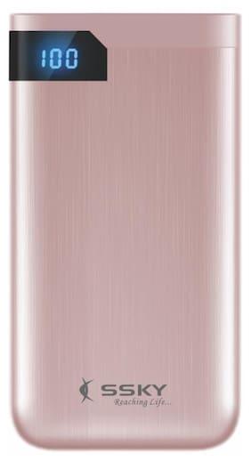 SSKY 10000 mAh Li-Polymer Power Bank (Pink)