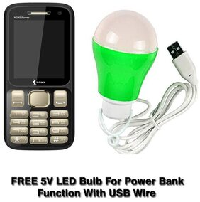 SSKY Reaching life N230 Power Selfie with Free Led bulb 5 V Gold