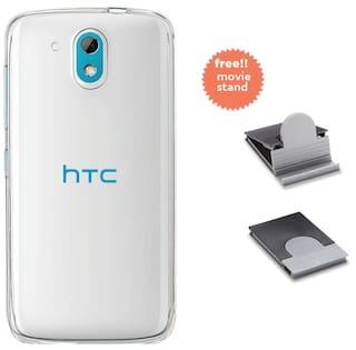 get cheap 61bd1 c7fd5 Buy Stuffcool Pure Transparent Soft Back Case for HTC Desire 526G+ ...