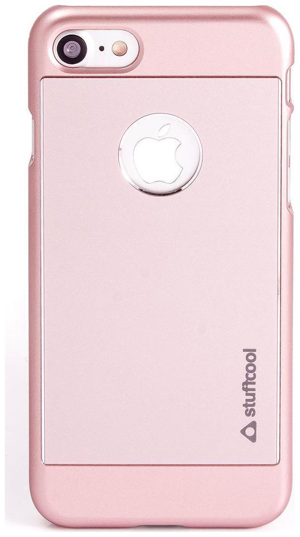 Stuffcool Deco Aluminium Hard Back Case Cover for Apple iPhone 7   Rose Gold