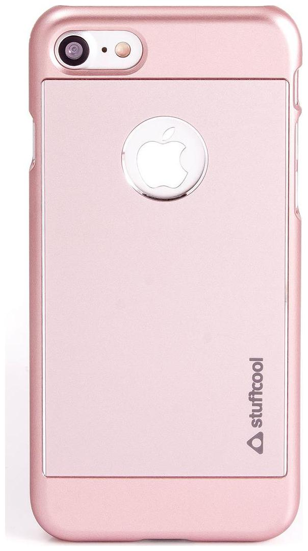 Stuffcool Deco Aluminium Hard Back Case Cover for Apple iPhone 7   Rose Gold