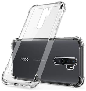 Oppo A9 2020 Silicone Back Cover By SUNRISE HUB ( Transparent )