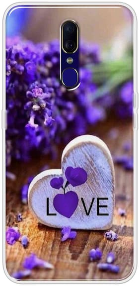 Oppo F11 Silicone Back Cover By Sunrise ( Multi )