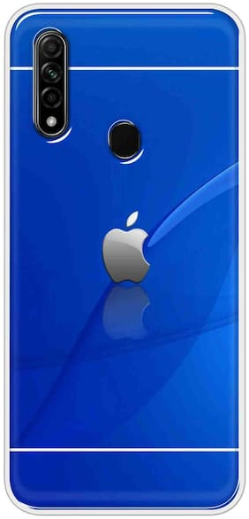 Oppo A31 Silicone Back Cover By Sunrise ( Multi )