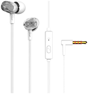 Gadget Wagon GW-TG-603-WHITE In-ear Wired Headphone ( White )