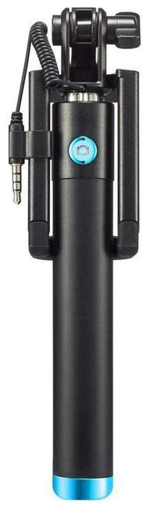 Supremacy Wired Selfie Stick With Remote (Black)