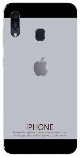 SVISINDIA Silicone Back Cover For Samsung Galaxy A30 ( Multi )