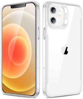 Apple iPhone 12 Mini Silicone Back Cover By SVISINDIA ( Transparent )
