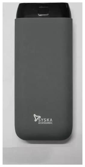 Syska 20000 mAh Li-Polymer Power Bank (Grey)
