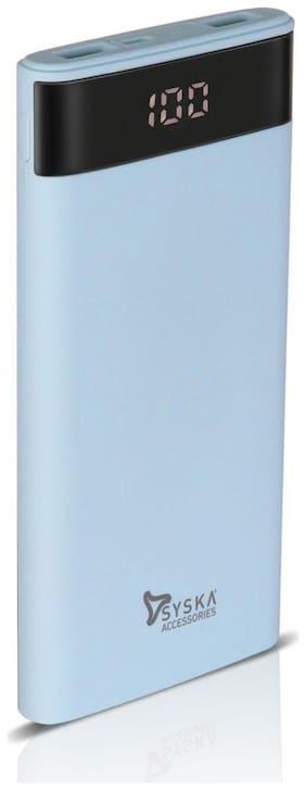 Syska P1003-BL 10000 mAh Portable Power Bank - Blue