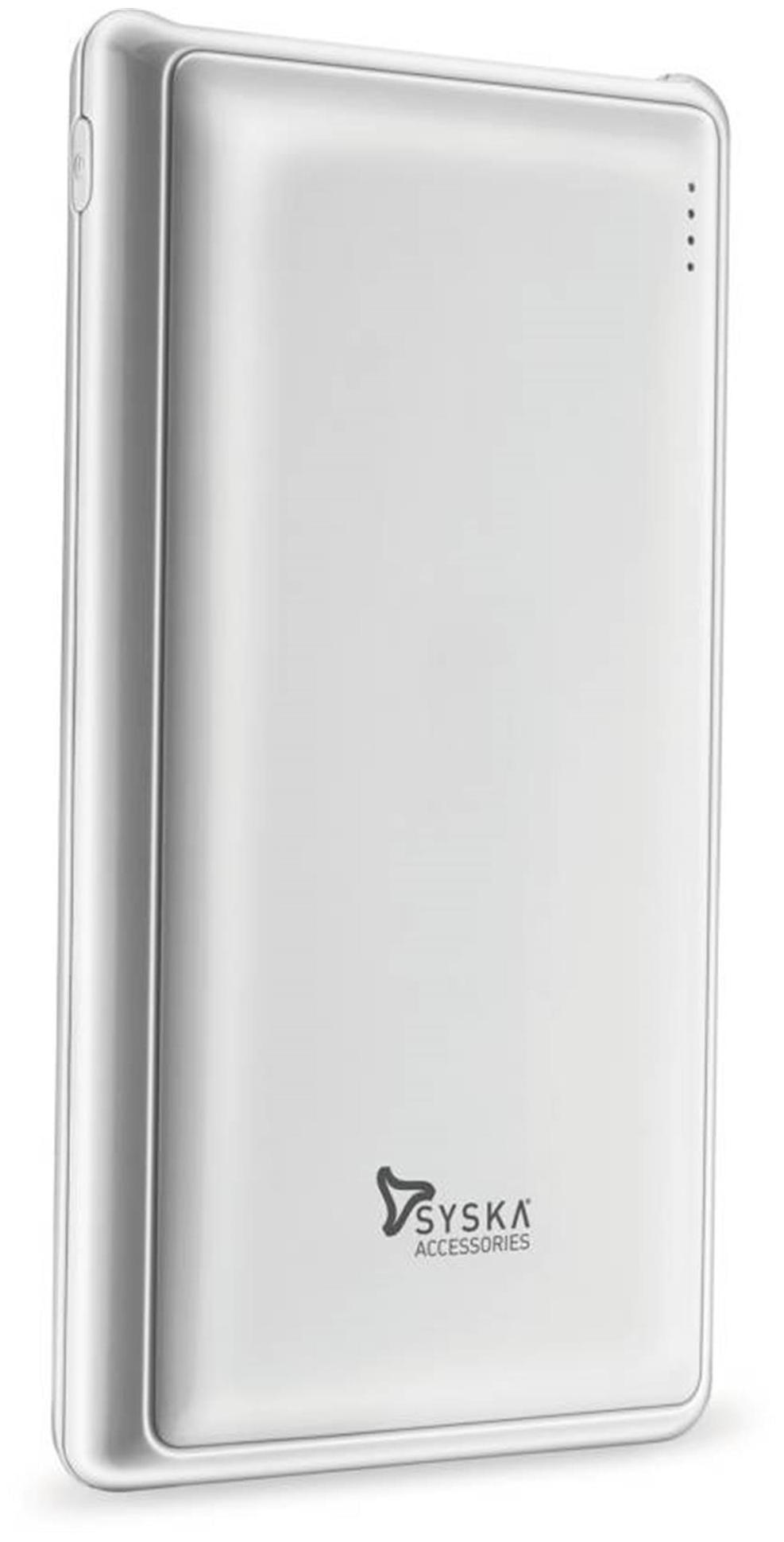Syska Power Pro 200 20000 mAh Power Bank   White by Electrop Store