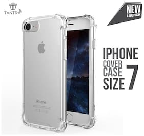 TANTRA iPhone 7 Case : Advanced Slim Shock-absorbent, Scratch-resistant, Anti-Scratch Protective Cover Case with Transparent Soft Gel Back Flexible TPU Gel Bumper for Apple iPhone 7