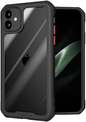 TARKAN Silicone Back Cover For Apple iPhone 11 ( Assorted )